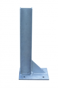 Base plated posts